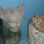 Cat mummies Painted wooden Roman30BC Bubastis