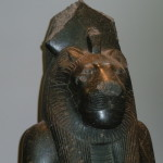 SEKHMET, THE LION GODDESS, BAST'S EVIL SISTER