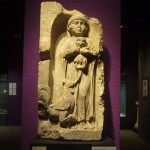 Tombstone of Laetus's Daughter with Cat, 2nd Century AD Musee d'Acquitaine