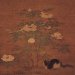 Calico Cat Under Noble Peonies, Sung Dynasty