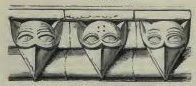 Cats in the Middle Ages Beakshead ornaments