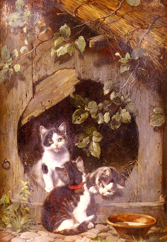 Kittens Julius Adam Private Collection