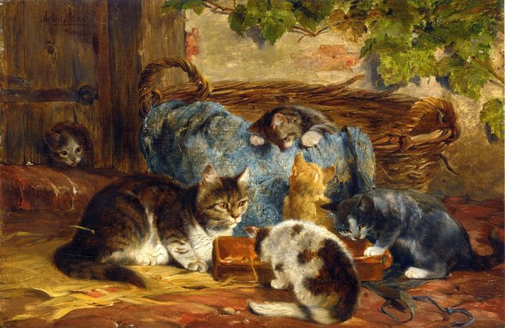 The Kitten's Supper Julius Adam II