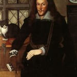 Henry Wriothesley and His Cat Trixie