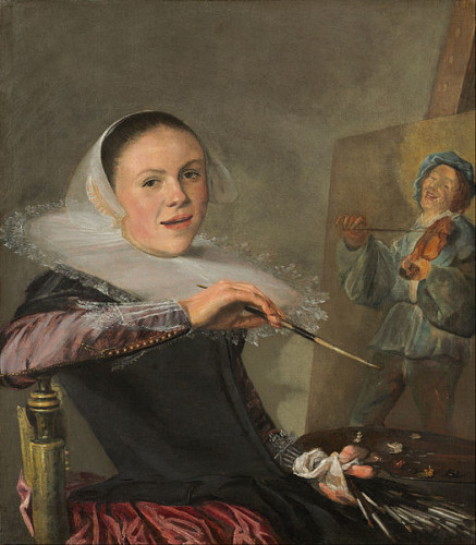 Judith Leyster Self-Portrait 1630 Oil on Canvas National Gallery of Art,