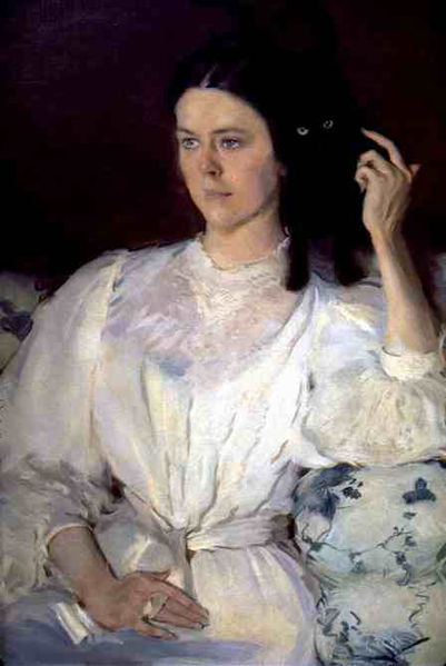 Portrait of Sarah Allibone-Leavitt (Sita and Sarita) Cecilia Beaux 1896 Musee d'Orsay, Paris