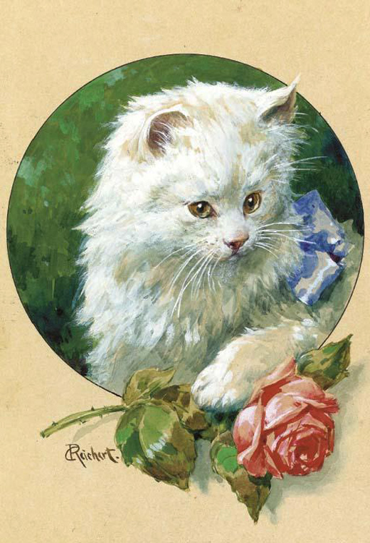 cats in paintings