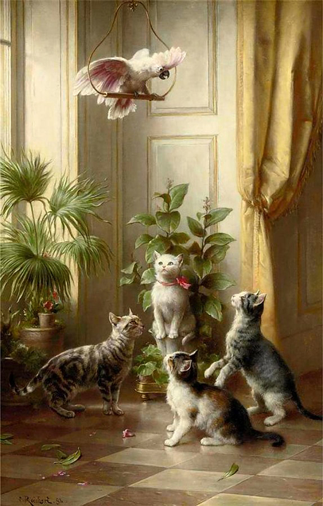 victorian cat, cats in history