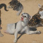 Cats in the Enlightenment (Part 14 – Cats in Art – Perronneau, Crespi, Desportes)