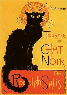 Chat Noir cats in art