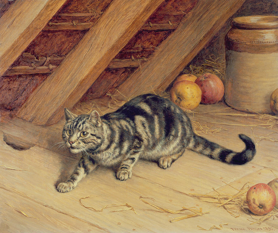 Alert Frank Paton 1895 Private Collection
