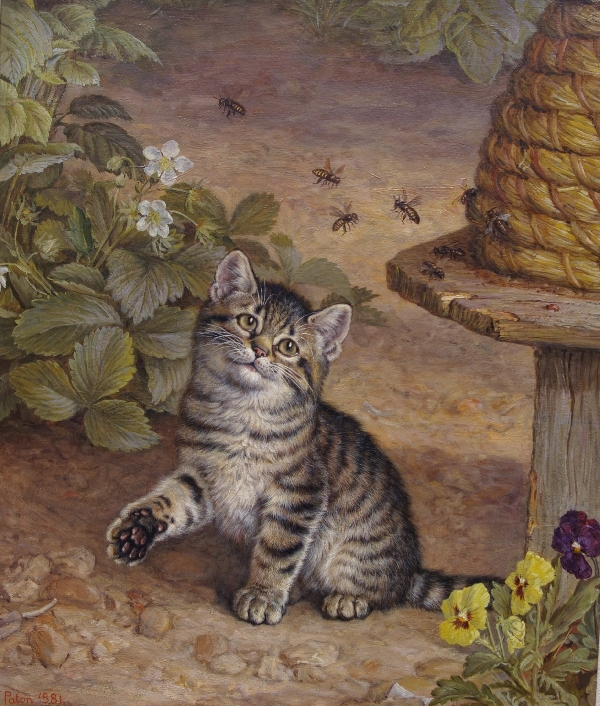 Bees Frank Paton private collection