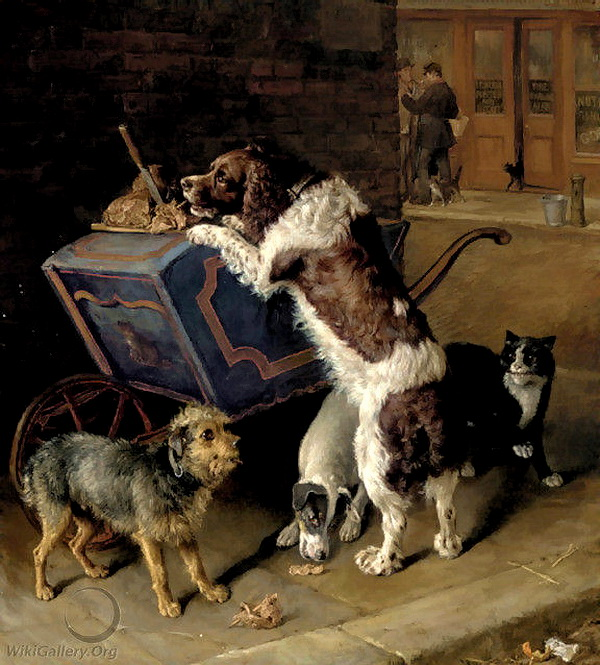 The Cat Meat Man Frank Paton private collection