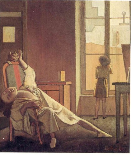 The Week with Four Thursdays 1949 Balthus and Cats