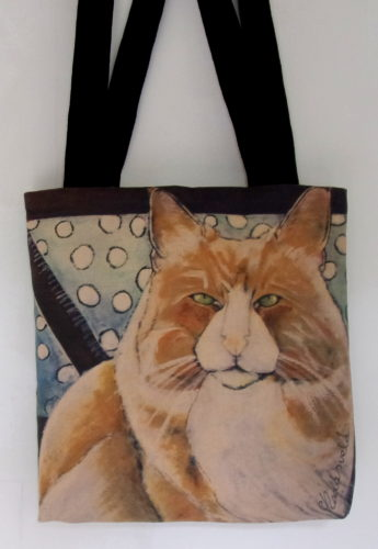 Ukko 2-art bag, Carla Raadsveld, cat bags