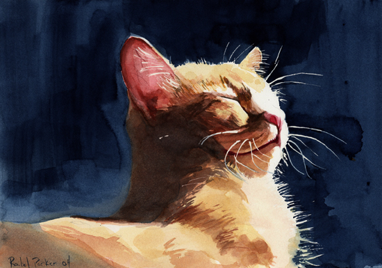 Hum's Bliss, cats in paintings