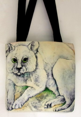 the Silly cat-art bag-Carla Raadsveld