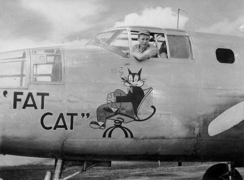 Fat Cat, September or October 1943 at Doba Dura cats at war, war cats, cat mascots