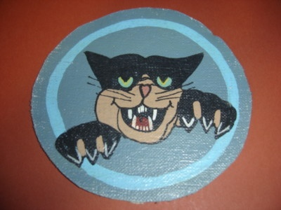 WWII USAAF Black Cat 418 Night Fighter SQDN Patch