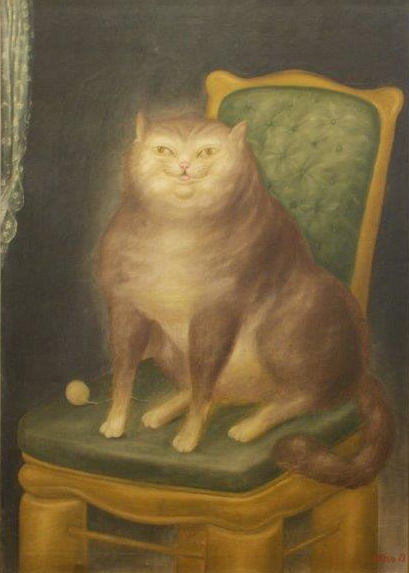 Fernando Botero S First Painting