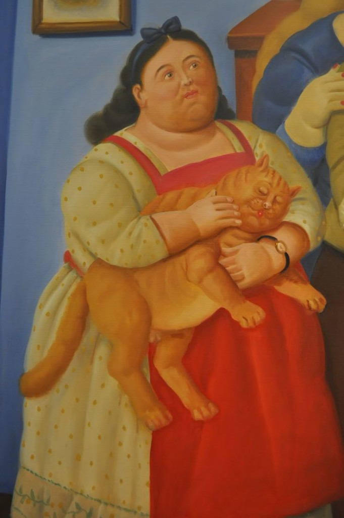 Fernando Botero (1932 - present, Colombian) | THE GREAT CAT