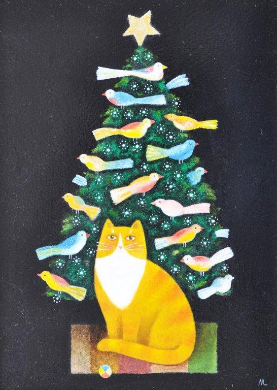 Christmas Cat, Martin Leman