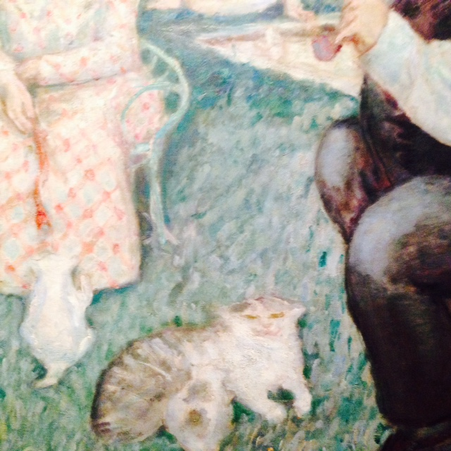 Detail - The Terrasse Family 1900, P. Bonnard