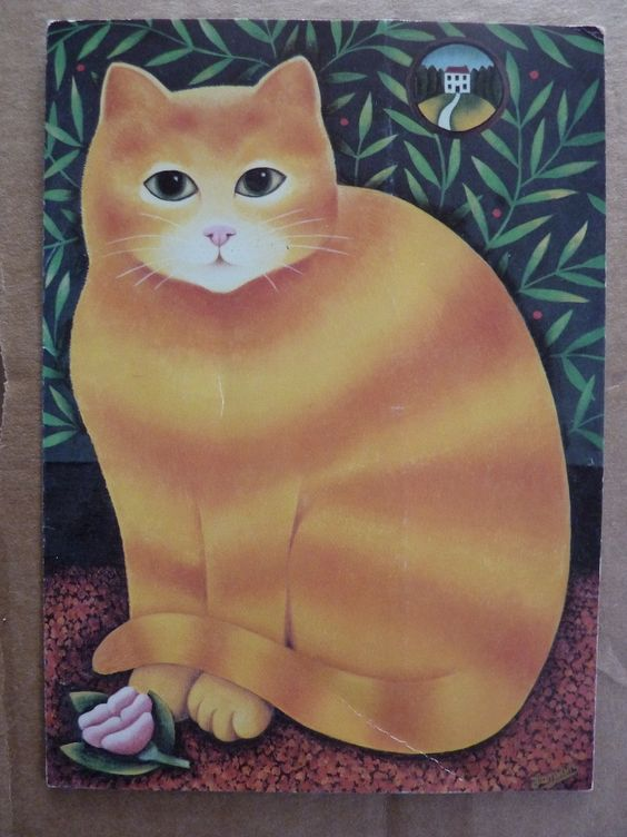 Fat Orange Cat, Martin Leman