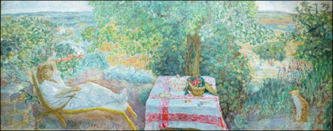 La Sieste au Jardin A Nap in the Garden 1914, P. Bonnard