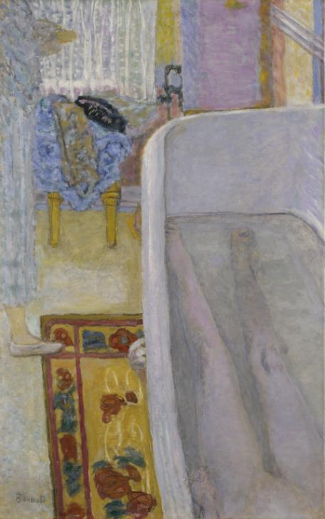 Nude in the Bath 1925 , Pierre Bonnard