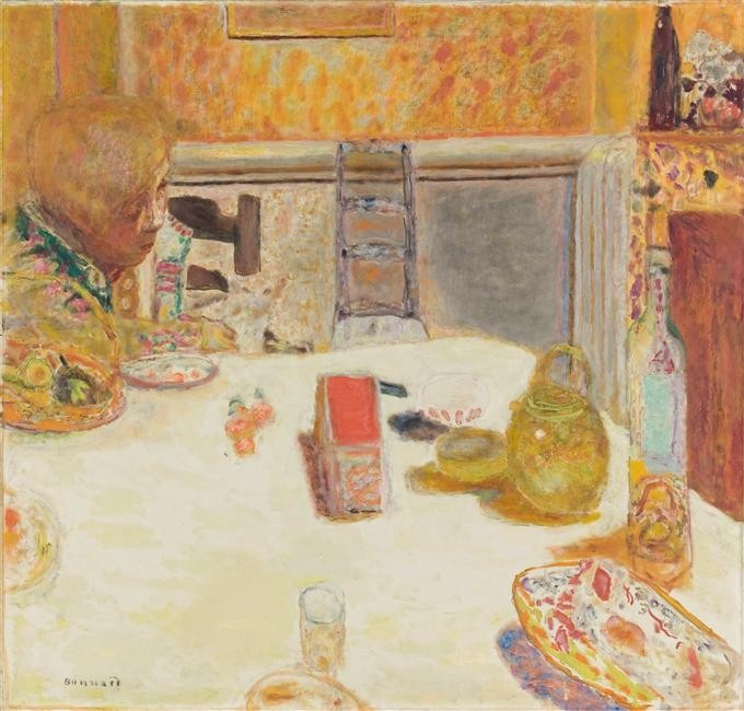 La Salle à manger au Cannet The Kitchen, Cannet 1932, P. Bonnard