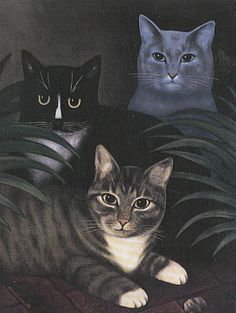 Three Cats, Martin Leman
