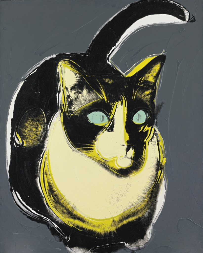 Andy Warhol, Black and White Cat