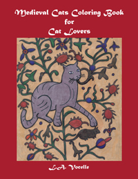 Medieval Cats Coloring Book for Cat Lovers