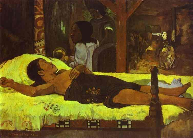 Nativity 1896, Paul Gauguin