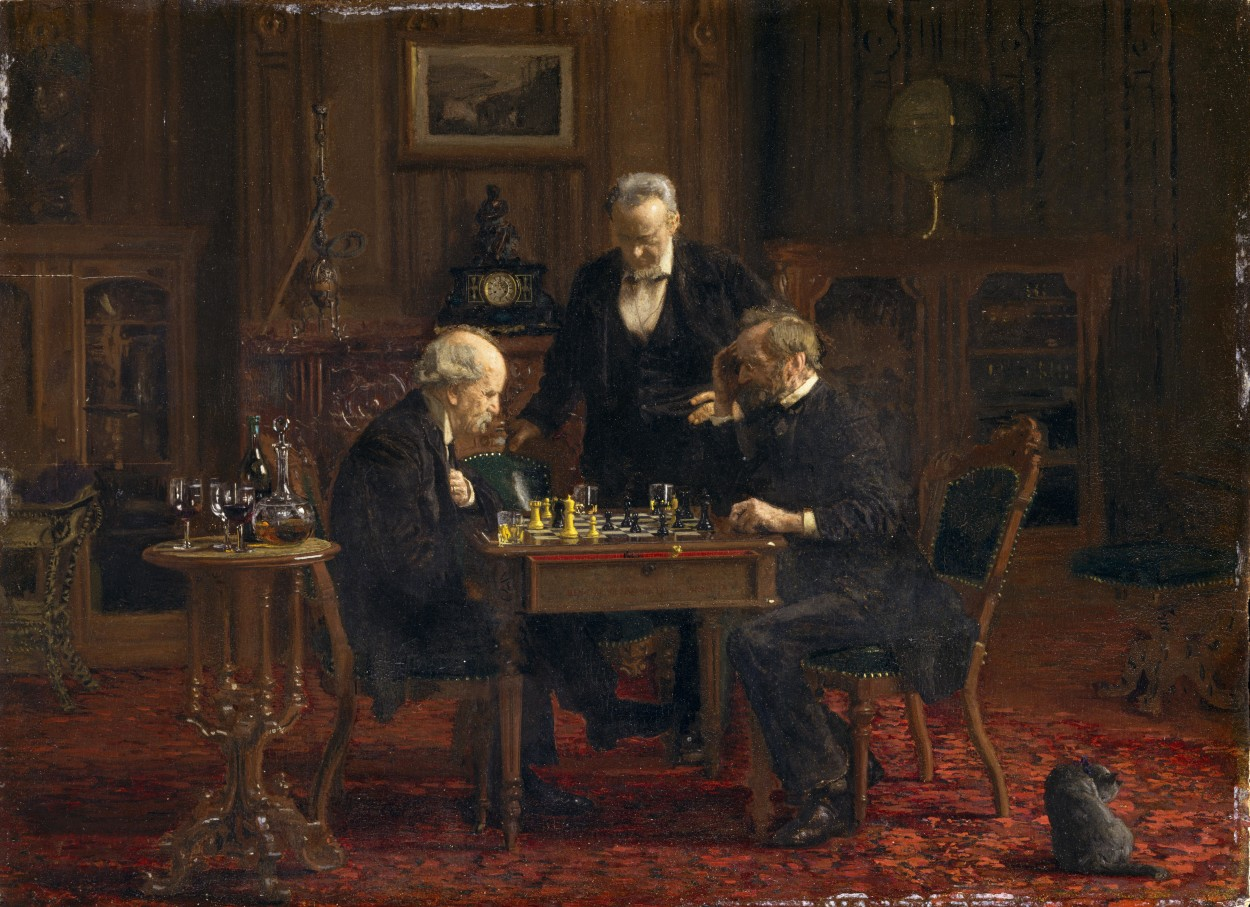 The Chess Players, Thomas Eakins, 1876