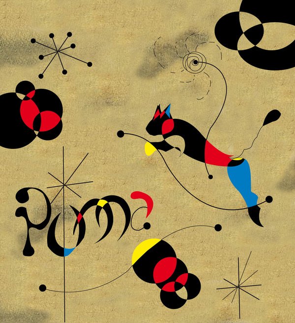 Joan Miro, Jumping Cat