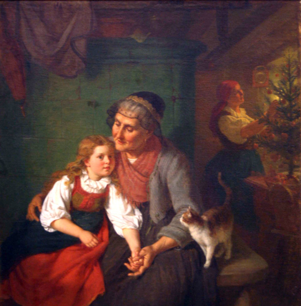 Rudolf Epp, Grandmother's Story with cat