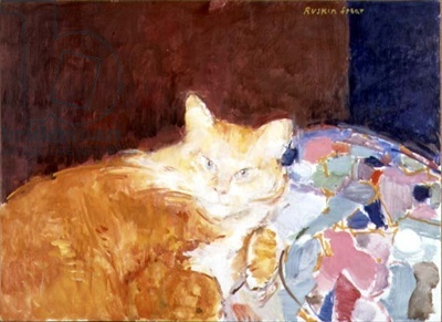 Ruskin Spear, Orange and white cat
