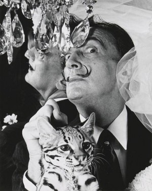 Salvador Dali and Babou