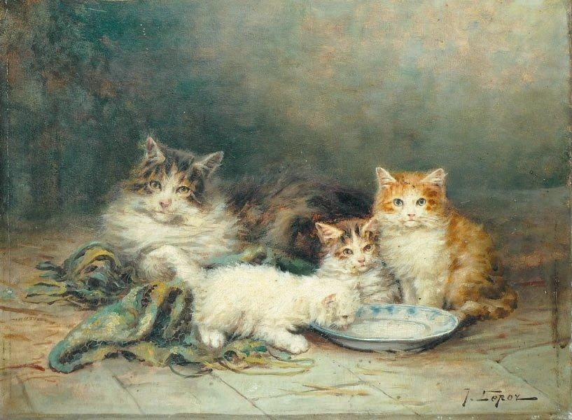 Jules Gustave Le Roy, Chattons