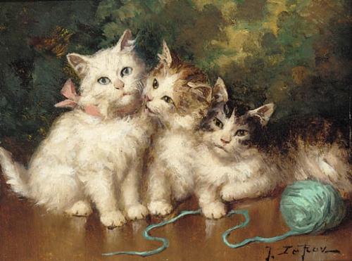 Jules Gustave Le Roy, Companions
