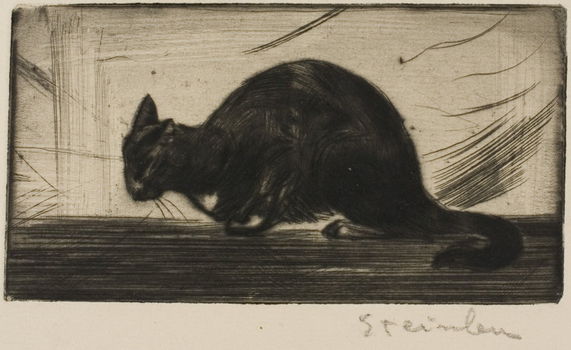 Cat Arching Its Back, 1898 Art inst of Chicago