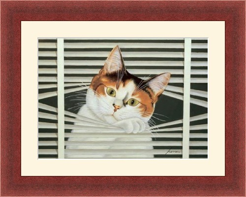 Cat Between the Blinds, Lowell Herrero