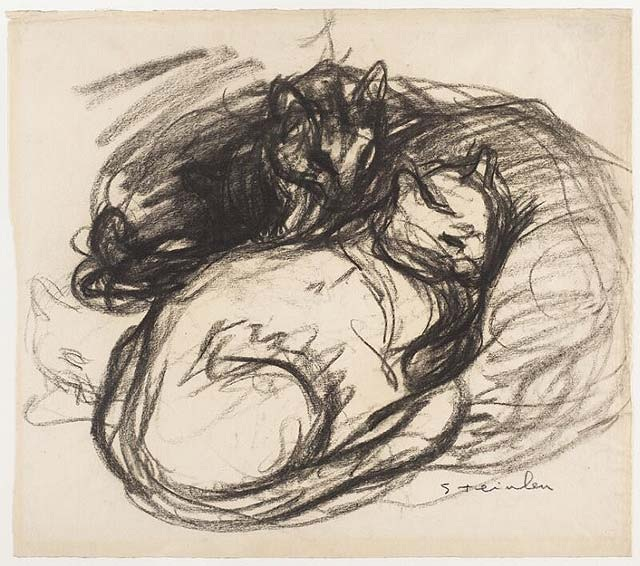 Cats Theophile Steinlen
