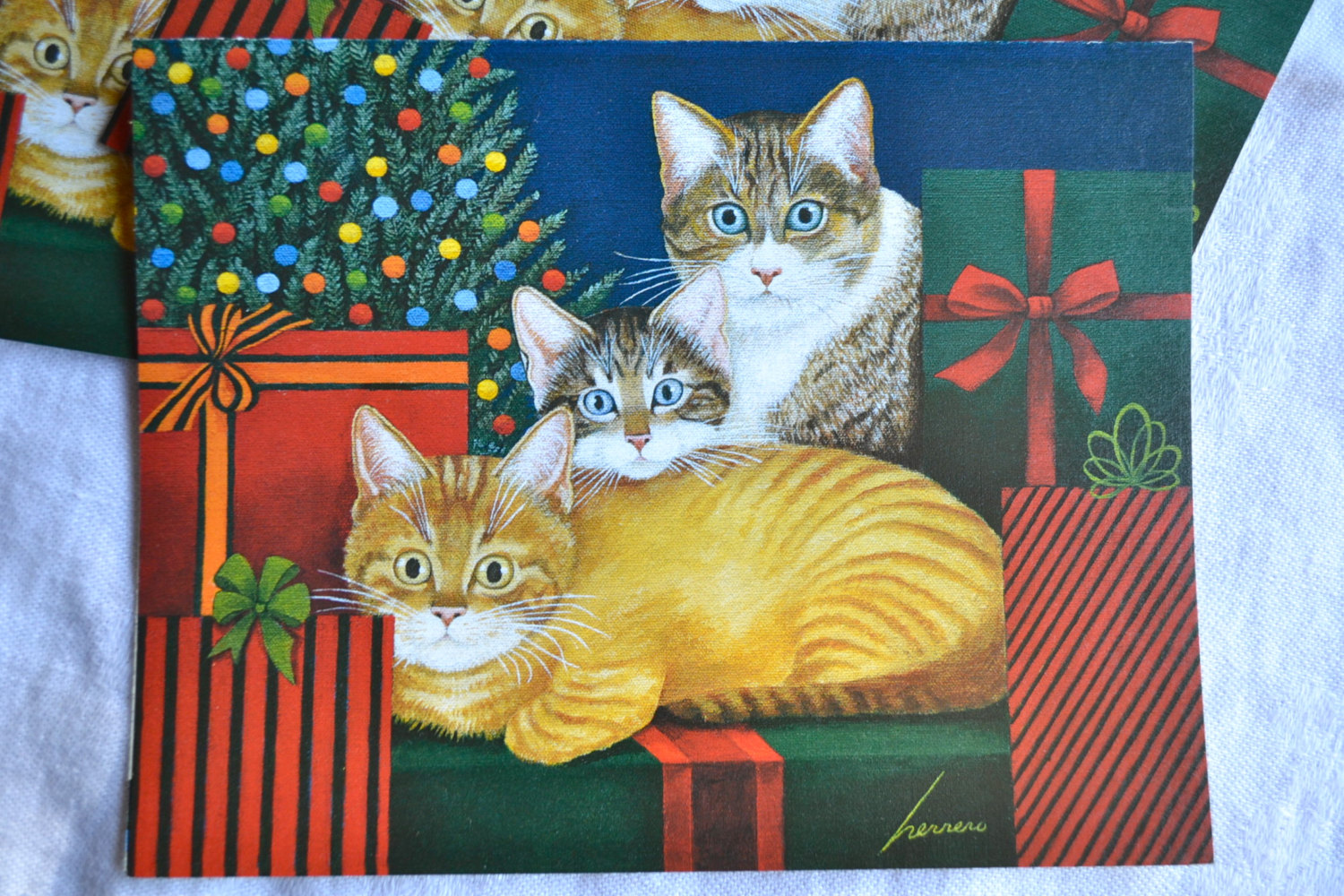 Cats and Presents, Lowell Herrero