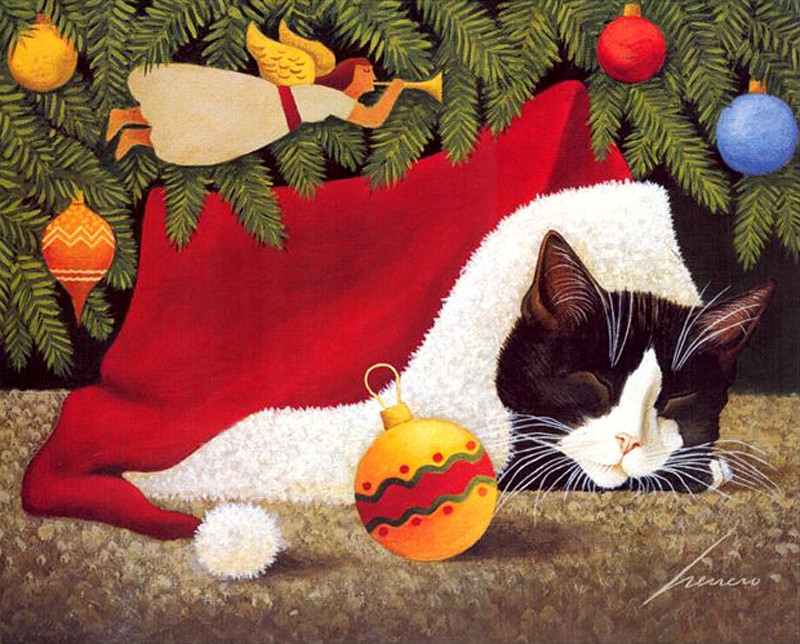 Lowell Herrero, Christmas Cat