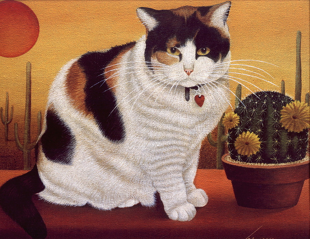 Lowell Herrero, Calico Cat