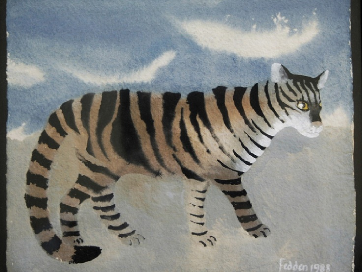 Tiger Cat, Mary Fedden