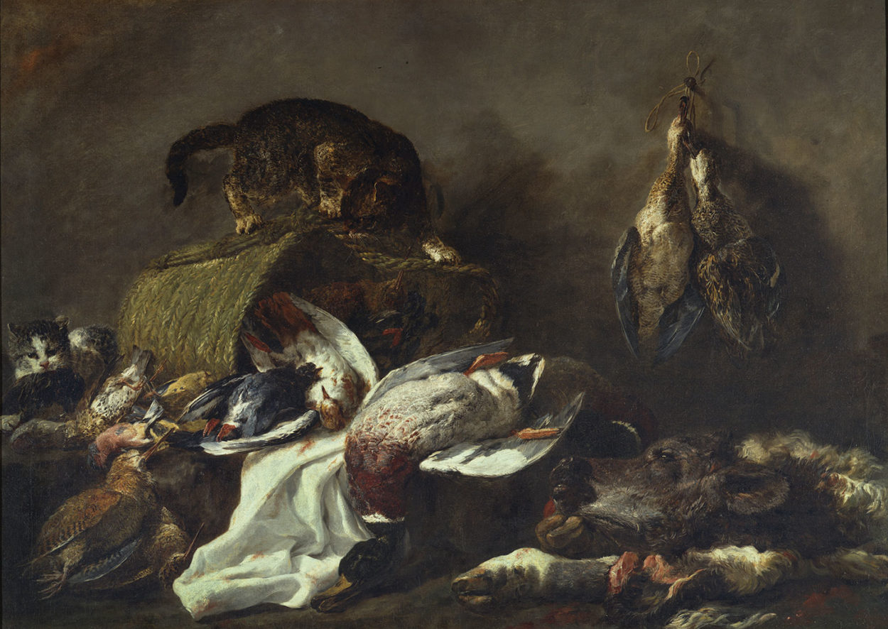 Still life with Game, by Jan Fyt, 1640 - 1655, 17th century
